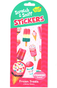 Frozen Treats Scratch and Sniff Stickers (Strawberry Scent)