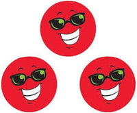 Red Smiles Scratch 'n Sniff Stinky Stickers (Strawberry Scent)