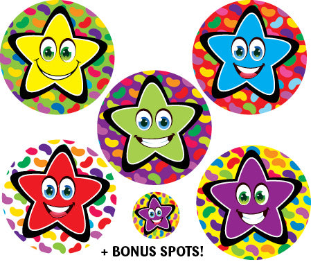 Sticky Beak Jellybean Stars Scratch 'n' Sniff Stickers *NEW!