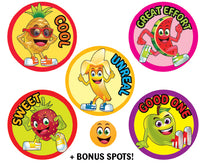 Sticky Beak Tutti Frutti Scratch 'n' Sniff Stickers