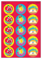 School Time Scratch 'n Sniff Stinky Stickers (Apple Scent)