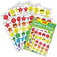 Smiles & Stars Scratch 'n Sniff Stinky Stickers Variety Pack (648 stickers)