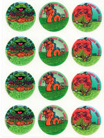 Spearmint Slime Scratch & Sniff Smelly Stickers *NEW!
