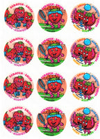 Strawberry Playtime Scratch & Sniff Smelly Stickers *NEW!