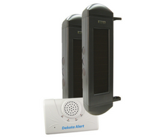 Break Beam Driveway Alarm, Wireless, Solar, BBA-2500