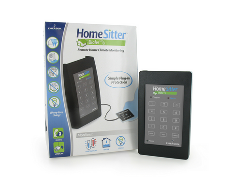 HomeSitter Temperature Water Power Alarm, HS-700E