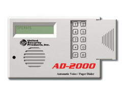 Automatic Telephone / Pager Voice Dialer, USP AD-2000