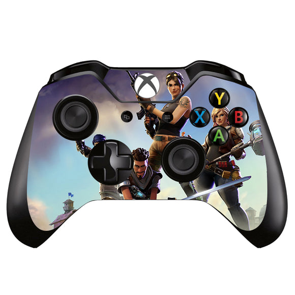 Game Fortnite Vinyl Skin Sticker For Xbox one Game Controller for Xboxone Gamepad Decal