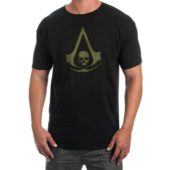 Assassins Creed Logo Men's Black T-shirt