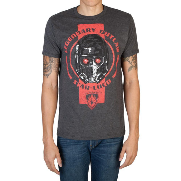 Guardians of the Galaxy Star-Lord Helmet Tee