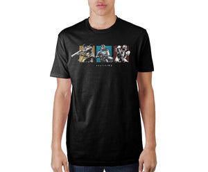 Destiny 2 Horizontal Guardian Grid Black Soft Hand Print T-shirt