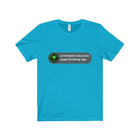 Legal Drinking Age Achievement Unlocked T-Shirt