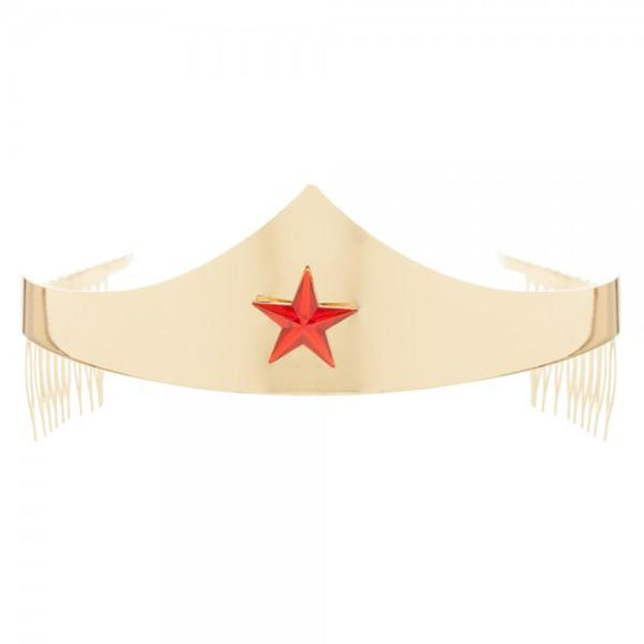 DC Comics Wonder Woman Tiara with Gem Star