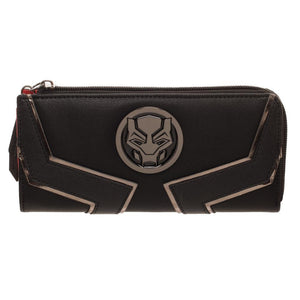 Black Panther L-Zip Wallet