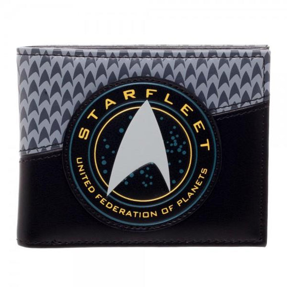 Star Trek Star Fleet Bi-Fold Wallet