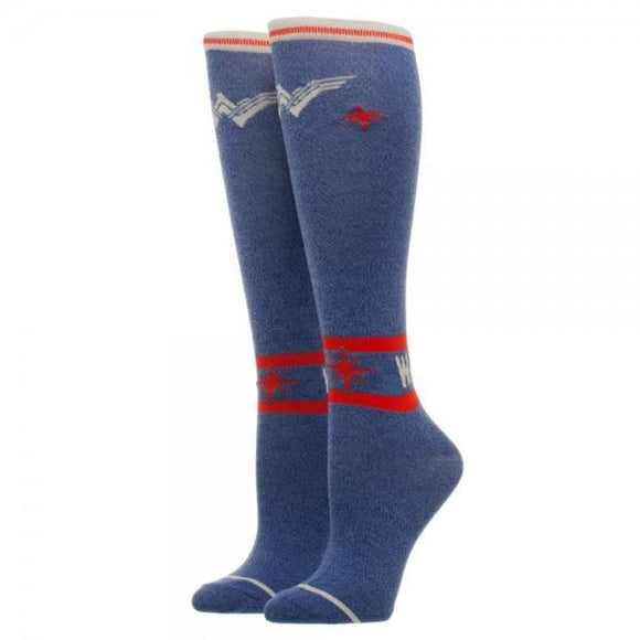 Wonder Woman Warrior Juniors Knee High Socks