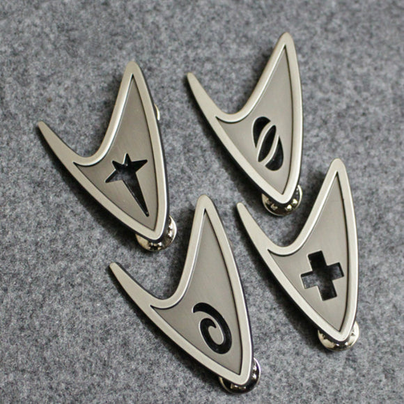 Star Trek Insignia Pin (Command, Engineering, Medical, Science, or All together)