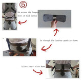 Classic Attack On Titan Cosplay Shingeki No Kyojin Harness Belt