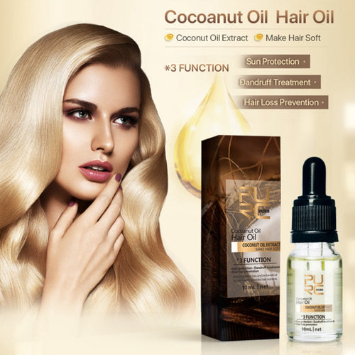 Moisturizing Coconut Oil Reduce Beneficial Protein - Bell'Art Cosmetics
