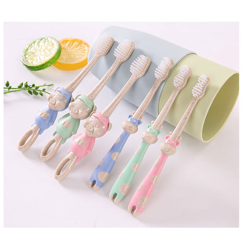 Lovely Baby Toothbrush Cartoon Oral Care - Bell'Art Cosmetics