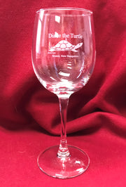 12oz Diane the Turtle Wine Glass