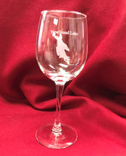 12oz Newfound Lake Wine Glass