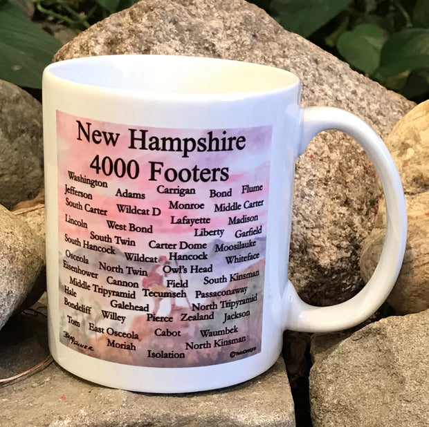 New Hampshire 4000 Footers Mug