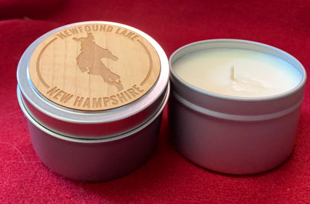 Newfound Lake Travel Candle
