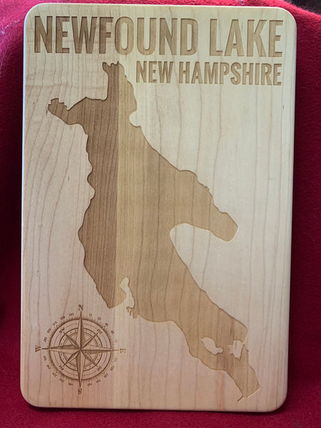 Newfound Lake Cutting Board