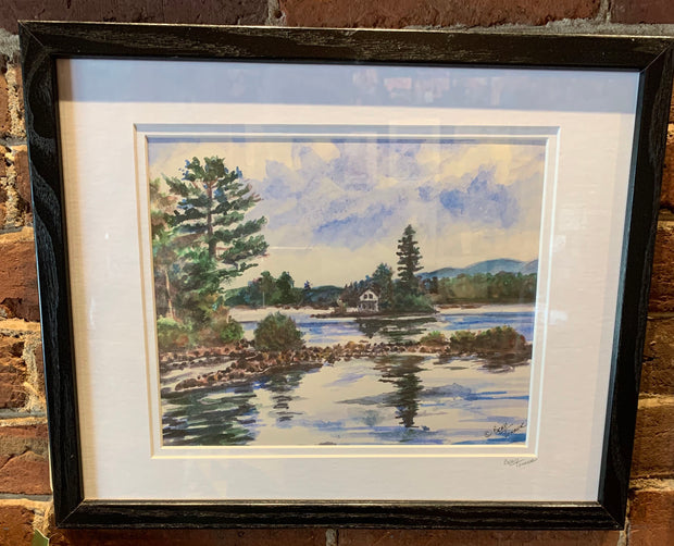 """Loon Island Newfound Lake New Hampshire"""