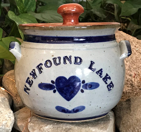 Grandville Hollow Pottery Newfound Lake Bean Pot