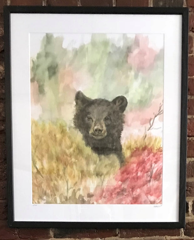 "Limited Edition Framed Print ""Bear"" by Brad Tonner"