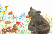 Bear Valentine Note Cards