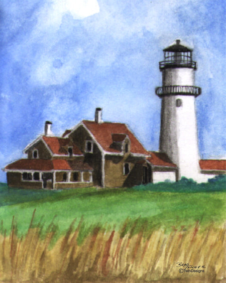 Cape Cod Light Note Cards