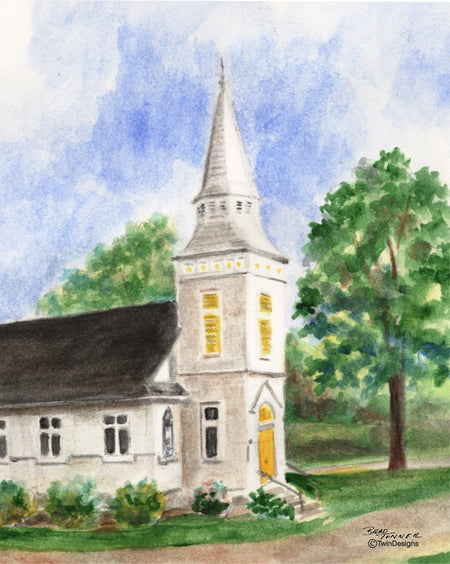 Country Church Note Cards