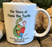 Diane the Turtle and the Boy Who Grew Up With Her Cover Mug