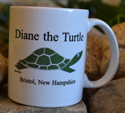 Diane the Turtle Logo Mug