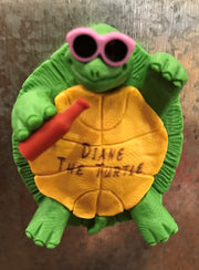 Diane the Turtle Magnet