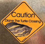 Caution Turtle Crossing Magnet