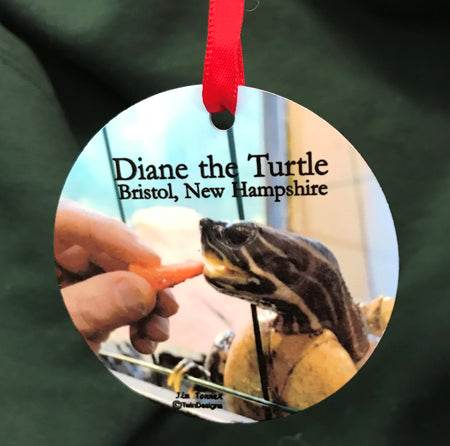 Diane the Turtle Ornament