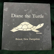 Diane the Turtle Slate Trivet