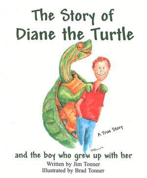 Diane the Turtle and the Boy Who Grew Up with Her