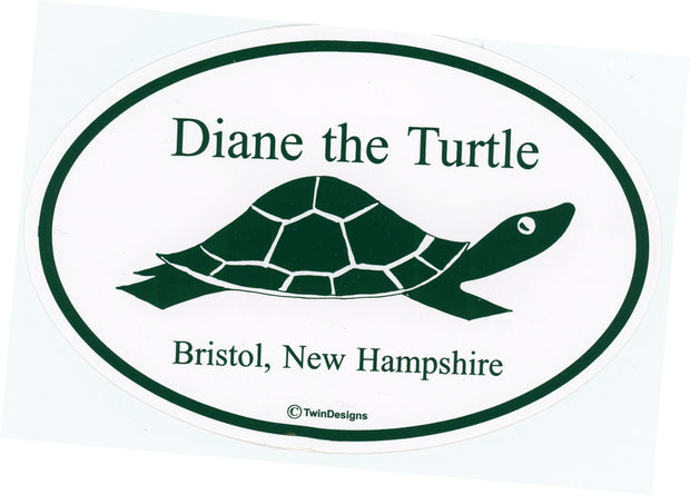 Diane the Turtle Bumper Sticker