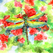 """Dragonfly"" Ceramic Tile Trivet"