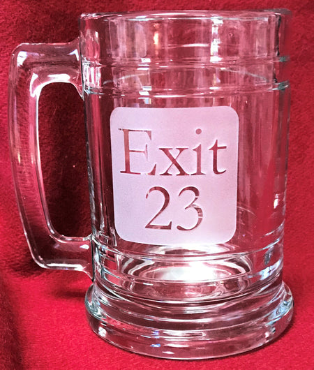 Exit 23 New Hampshire 15oz Beer Mug