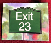 Exit 23 New Hampshire Flexible Magnet