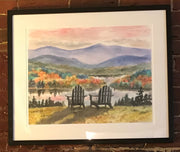 "Limited Edition Framed Print ""Adirondack Sunset"" by Brad Tonner"