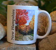 Fall Country Road Mug