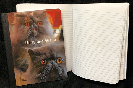 Harry and Grace the Cats Composition Book
