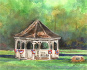 Hebron Gazebo Newfound Lake Note Cards